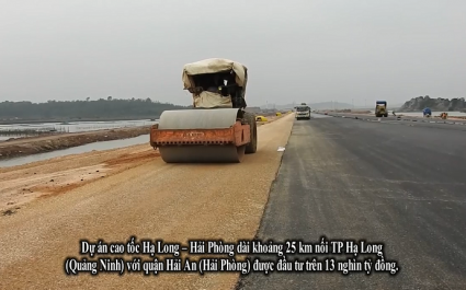 [Video] Công trường chuỗi cao tốc tỷ đô ở Quảng Ninh